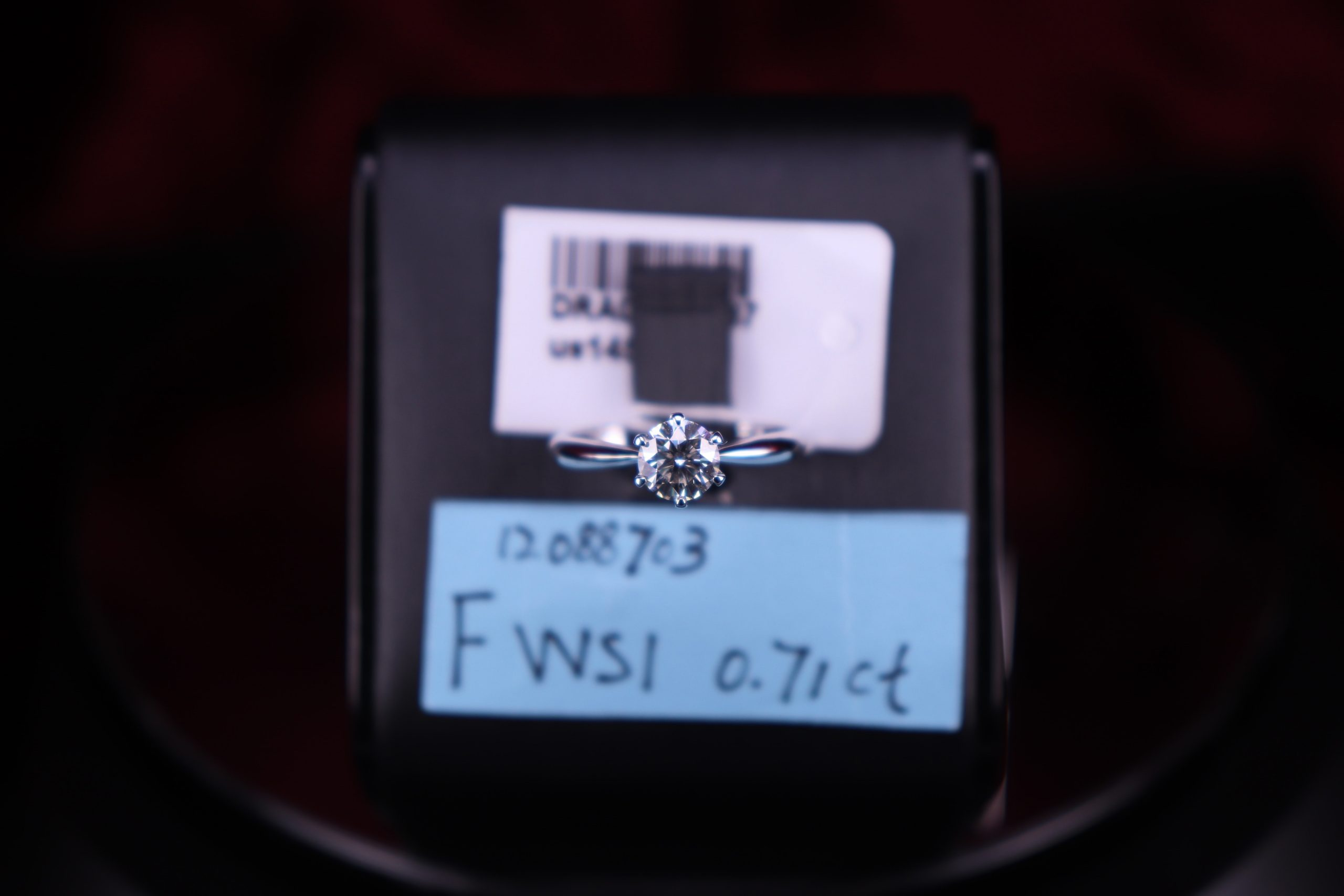 F VVS1 0.71ct